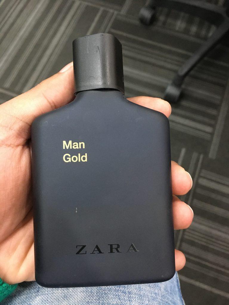 ادکلن اورجینال زارا من گلد ZARA man gold